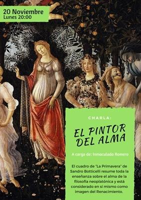 Ciclo de Filosofía y Arte, con motivo del DÍA MUNDIAL DE LA FILOSOFÍA, en Nueva Acrópolis Granada.