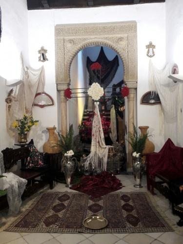 Día de la Cruz en El Palacio de Abrantes.