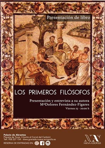 Presentación del libro: Los primeros Filósofos