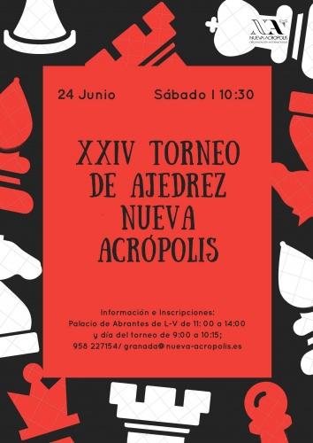 XXIV Edición Torneo Ajedrez Nueva Acrópolis